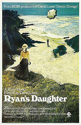 """RYAN'S DAUGHTER"" ..Robert Mitchum ..Classic Movie Poster A1 A2 A3 A4Sizes"