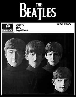 """With the Beatles Photo Print 14 x 11"""""""