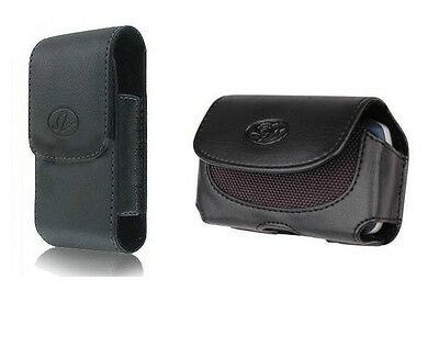 Holster Pouch Case Clip fits with Hybrid / Silicone / Tough / Rubber Case on