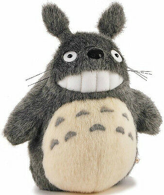 "TOTORO Stuffed Toy New  7"" Japanese Studio Ghibli My Neighbor Smiling Plush Doll"