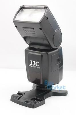 JJC SF33 Flash Speedlight hot shoe for Nikon Canon DSLR camera with Flash Stand