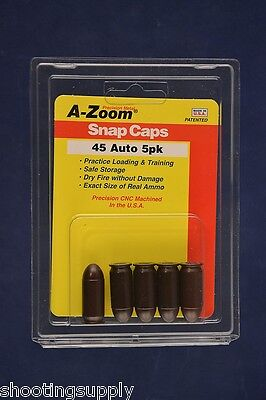 A-Zoom Snap Caps for 45 ACP azoom #15115