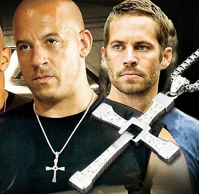The Fast and the Furious Dominic Toretto's Exquisite Cross Pendant Necklace Hot