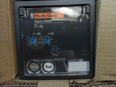 Schneider Merlin Gerin RH99P Earth leakage Module NEW