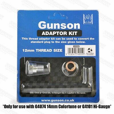 Gunson Colortune & Compression Tester Thread Adapter 14mm to 12mm 4055B