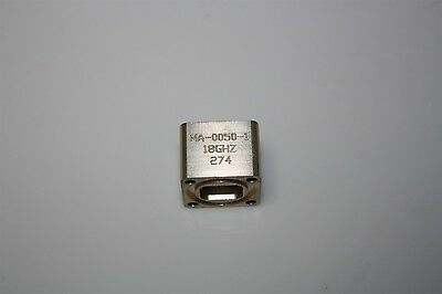 RF Microwave Waveguide WR42 Flange Adapter Rectangular to Circular 18GHz