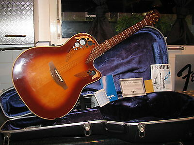 Ovation Collectors Edition 1985 Made In Usa Awesome Vintage Guitar