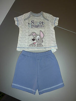 DISNEY Really Cute SCAMP Sweet Dreams PJ's NWT