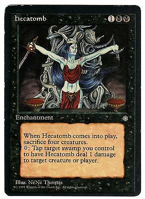 Hecatomb - Ecatombe 1x carte Magic (ENGLISH) Ice Age VG