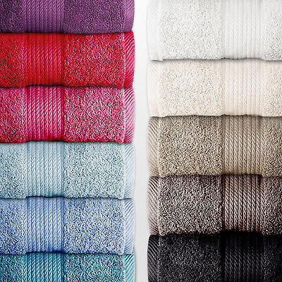 Bath Towel Luxury Egyptian Cotton 500GSM Special Buy Bale Catherine Lansfield