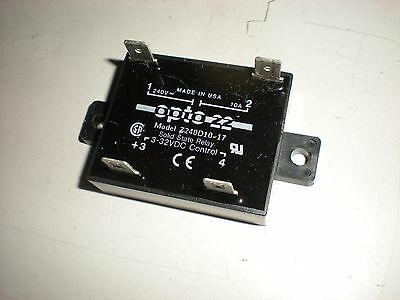 Opto 22 Model Z240D10-17 Solid State Relay - Tests OK - #5
