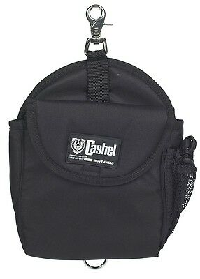 Cashel Insulated Heavy Duty Horn Quality Saddle Bag Black Trail Horse Tack Horn