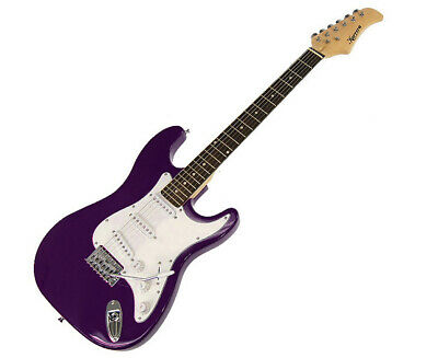 New Karrera Electric Guitar Music String Instrument Purple