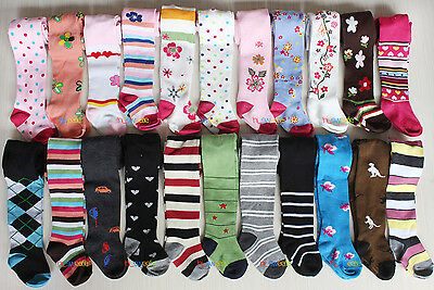 HOT Baby Boy Girl Unisex Kids Toddler Tights Pantyhose Pants Trousers 3M to 24M