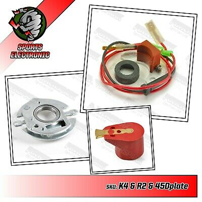 Lucas 48D4 Electronic ignition kit Rotor & plate to convert distributor inside