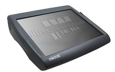 Micros Workstation 5A, WS5A ,POS Touch Terminal w/ Power Cord. 400814-104