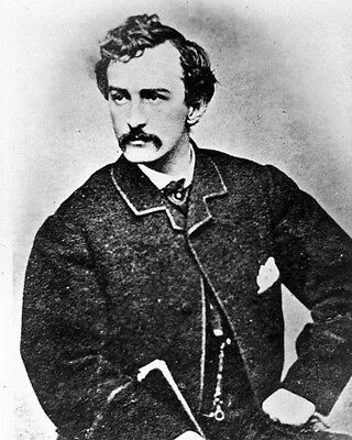 New 8x10 Photo: John Wilkes Booth, Assassin of President Abraham Lincoln