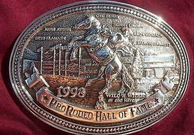 Award Design Medals Pro Rodeo Hall Of Fame Legends Of The Rodeo Limited Ed Sp