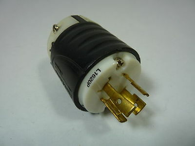 L1620P, PASS & SEYMOUR, 20A, 3PH, 480V, Industrial TURNLOK MALE PLUG