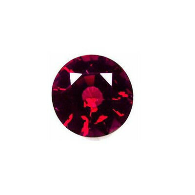 Natural Deep Red Garnet - Round - Madagascar -Top Grade - Loose Gem