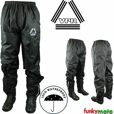 Over Trouser 100% Rain Wind Waterproof Motorcycle Hiking Scooter Free Balaclava