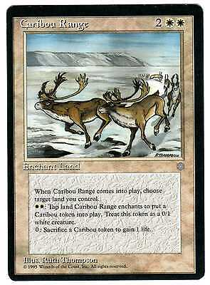 Caribou Range 1x carte Magic (ENGLISH) Ice Age EXC-NM