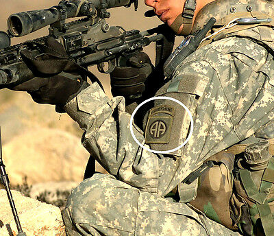 TALIZOMBIE© WHACKER JSOC 5TH SPECIAL FORCES GROUP SSI w//SF /& ABN Tabs Multicam