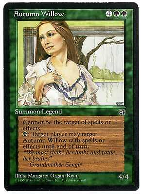 Autumn Willow 1x carte Magic (ENGLISH CARD) Homelands EXC