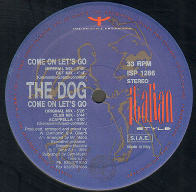 THE DOG - Come On Let's Go - Italian Style Production