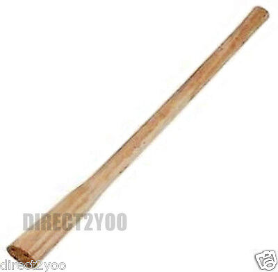 Replacement 90cm 36in Hardwood Handle Shaft Smooth Wood Finish Pick Mattock Axe