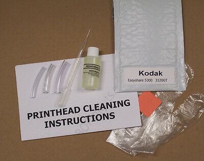 Kodak Easyshare 5300 Printhead Cleaning Kit (Everything Included) 3120GT