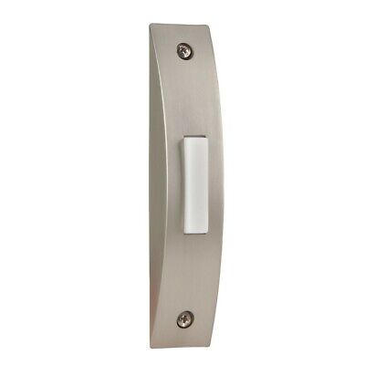 Craftmade Contemporary Surface Mount Doorbell - Brushed Nickel - BSCS-BN