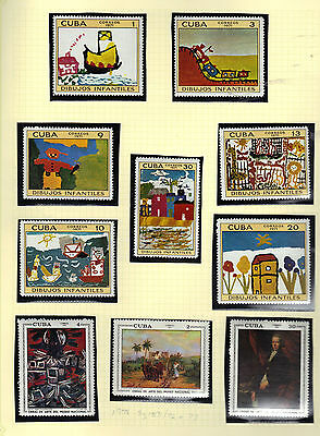 South America 1971 Art Collection Unmounted Mint Ref: PB635F