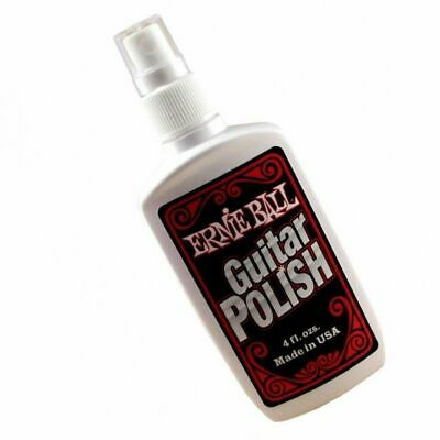 Ernie Ball Guitar Polish Spray Bottle Made in USA Instantly Protects and Shines