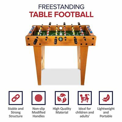 Deluxe Free Standing Football Foosball Soccer Table Game W Legs Christmas Gift