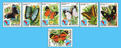 Nicaragua Stamp, 1982 Butterfly, Insect Stamp