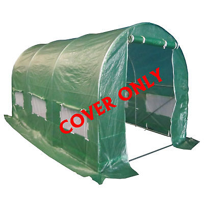 New Polytunnel Greenhouse Pollytunnel Poly Tunnel Cover Only 4m x 2m 3 Section