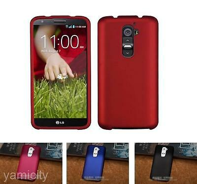 Simple Hard Plastic Back Protector Cover Case Guard Skin New For LG Optimus G2