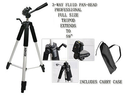 "59"" BOWER Professional Tripod FOR Video Digital Camera"