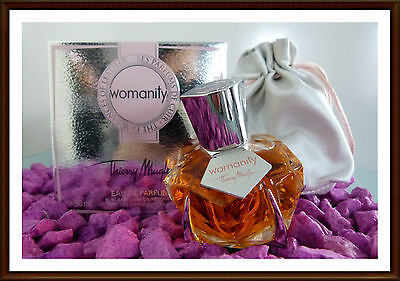 Thierry Mugler Womanity The Fragarences of Leather 30ml EDP  ABSOLUTE RARITÄT!