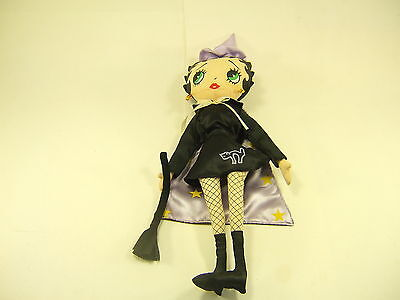 Betty Boop Plush Witch Doll