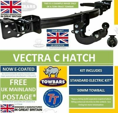 Flange Towbar for Vauxhall Vectra C Hatchback & Saloon 2002 to 2009 Hatch