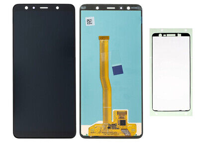 Original Samsung Galaxy A7 2018 A750F Display Touch Bildschirm Schwarz Kleber