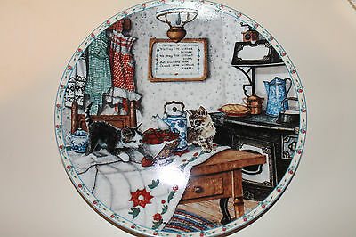 "Knowles Collector Plate ""Curious Pair"""