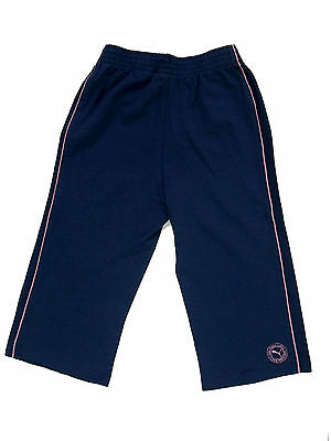 Girls Kids Puma Shorts Blue with pink details
