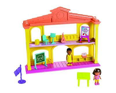 New Dora The Explorer School Adventure Playset Playtime Together Schoolhouse