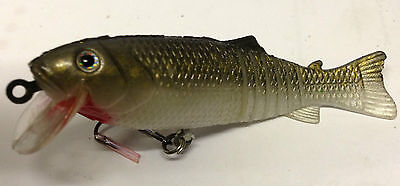 SOFT SHAD FISHING LURE with RATTLE PIKE PERCH CHUB TROUT ZANDER BASS SEA NEW 9CM