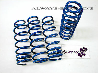 Manzo Lowering Coil Springs BMW E46 1999-2005 3 Series 2/4 DR M3