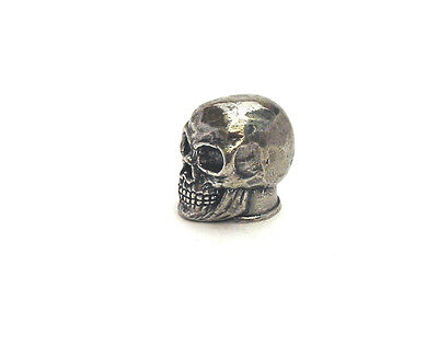 Pewter Skull Thimble Gothic Collectable Halloween Gift
