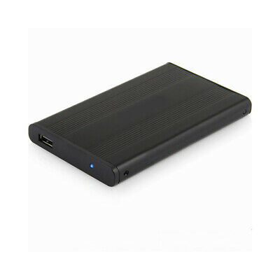 2.5 Inch IDE Hard Drive Enclosure USB 2.0 External HDD Case Black High Speed